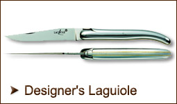 Laguiole knives made by famous designers
